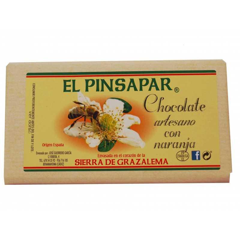 Chocolate con naranaja artesano