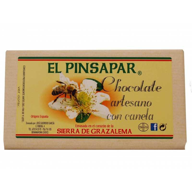 Chocolate con canela artesano