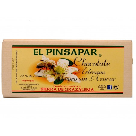 Chocolate sin azucar artesano