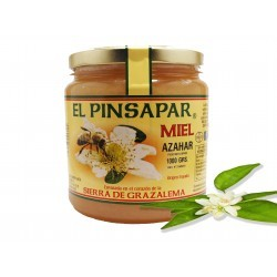 Miel de azahar con flor de naranjo
