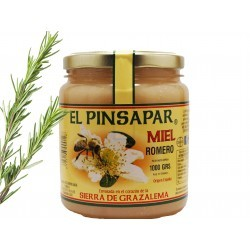 miel de romero con romero